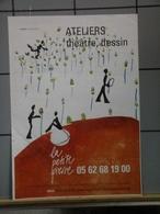 Affiches  - Attelier Théatre Dessin - Afiches