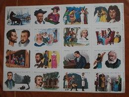 Planche éducative Volumétrix - N°106 - Littérature Française - Bücher, Zeitschriften, Comics