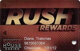 Sugar House Casino - Philadelphia, PA - 1st Issue Slot Card - Casinokarten