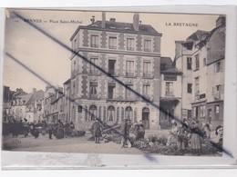 Rennes (35) Place Saint Michel -Jour De Marché - Rennes