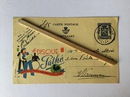 LE DISQUE PATHÉ»carte Publicitaire «Publibel Nº 536 (1943). - Reclame