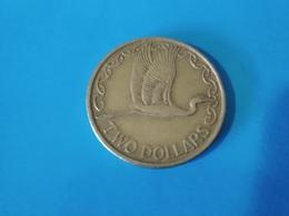 NOUVELLE ZÉLANDE  2  Dollars  1991   -- TB --   New Zealand  --   Héron - New Zealand