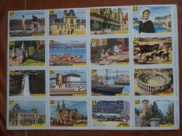 Planche éducative Volumétrix - N°160 - France II - Départements Charente Maritime 17 à Gers 32 - Books, Magazines, Comics