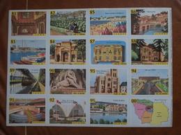 Planche éducative Volumétrix - N°164 - France VI - Départements Tarn 81 à Val D'Oise 95 - Books, Magazines, Comics