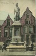 CPA BRUGES Statue Memling - Brugge