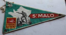 Fanion ST Malo 35 Ille Et Vilaine Bretagne - Ecussons Tissu
