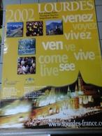 Affiches  - Lourdes 2002 - Afiches