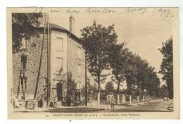 BOISSY SAINT LEGER - Gendarmerie - Route Nationale - Bon état- Circulée 1945- - Boissy Saint Leger