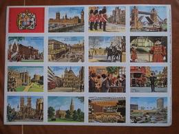 Planche éducative Volumétrix - N°179 - La Grande-Bretagne I - Learning Cards