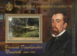 Russia 2019 Art Painting By V.Polenov - Blocks & Kleinbögen