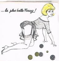 Illustrateur Louis Carriere Carte Double 180x108 Pin Up N° Fol IV   Lc32 - Carrière, Louis