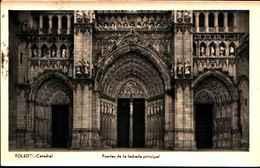 3471) CARTOLINA DI TOLEDO-CATTEDRALE PUERTA DE LA FACHADA PRINCIPAL-VIAGGIATA - Toledo