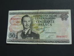 50 Francs GRAND DUCHE DE LUXEMBOURG 1972  **** EN  ACHAT IMMEDIAT  **** - Luxembourg