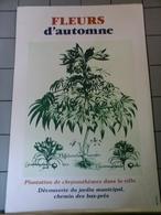 Affiches  -  Fleurs D'Automne Plantations Dans La Ville ! - Afiches