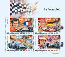 NIGER 2019 - Formula 1: Renault, Ferrari, Mercedes. Official Issue - Voitures