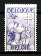 BELGIQUE - YT 382 - 1F75+25c Bleu - Neuf N* - Très Beau - Belgium