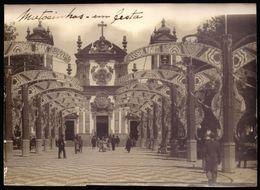 MATOSINHOS EM FESTA Igrega Paroquial Do Bpm Jesus. Vintage Photo (Porto) PORTUGAL 19.5cm X 14cm - Ohne Zuordnung