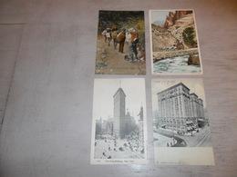 Beau Lot De 60 Cartes Postales D' Amérique  America     Mooi Lot Van 60 Postkaarten Van Amerika - 60 Scans - Cartes Postales
