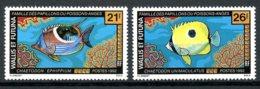 Wallis And Futuna, 1992, Fish, Animals, Fauna, MNH, Michel 617-618 - Wallis-Et-Futuna