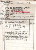 TURQUIE- CONSTANTINOPLE -LETTRE WLADIMIR CONSTANTINIDI -STAMBOUL MAHMOUD PACHA-1928 GANTERIE MEGISSERIE - Factures & Documents Commerciaux