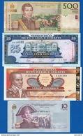 Haiti  4  Billets - Haïti