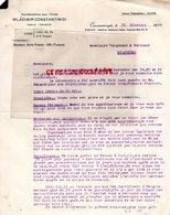 TURQUIE- CONSTANTINOPLE -LETTRE WLADIMIR CONSTANTINIDI -STAMBOUL -VERGNIAUD RATINAUD SAINT JUNIEN GANTERIE MEGISSERIE - Factures & Documents Commerciaux
