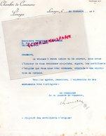 87- LIMOGES- LETTRE CHAMBRE COMMERCE 1928 TURQUIE  -VERGNIAUD RATINAUD SAINT JUNIEN GANTERIE MEGISSERIE - Factures & Documents Commerciaux