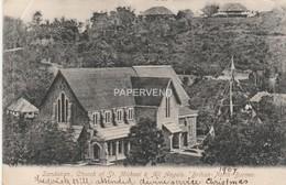 Malaysia  British North Borneo SANDAKAN Church Of St.Michael & All Angels Post Used 1908   Bnb25 - Malaysia