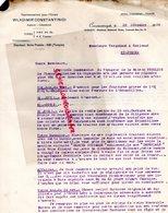 TURQUIE CONSTANTINOPLE-LETTRE WLADIMIR CONSTANTINIDI A VERGNIAUD RATINAUD SAINT JUNIEN GANTERIE-1928 - Factures & Documents Commerciaux
