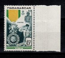 Madagascar - YV 321 N** Medaille Militaire Cote 4,50+ Euros - Madagascar (1889-1960)