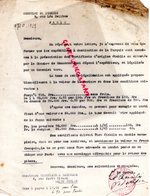 CONSULAT TURQUIE A PARIS -LETTRE SIGNEE LE CONSUL A VERGNIAUD RATINAUD SAINT JUNIEN GANTERIE-1928 - Factures & Documents Commerciaux