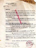 CONSULAT TURQUIE A PARIS -LETTRE SIGNEE LE CONSUL A VERGNIAUD RATINAUD SAINT JUNIEN GANTERIE-1928 - Other