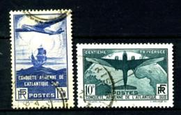 320/321 - Paire Atlantique Sud - Oblitérés - Très Beaux - France