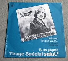Dave - Hurlevent - Tirage Spécial Salut ! - Autres - Musique Française