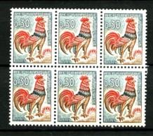 1331Aa - 30c Coq De Decaris - Gomme Tropicale - Bloc De 6 Exemplaires - Neuf N** - Très Beau - 1962-65 Cock Of Decaris