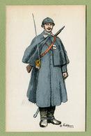 """ILLUSTRATEUR """" EDY """" - MILITARIA - Uniforme Militaire Guerre 1914 - 1918 - Guerre 1914-18"""