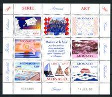 MONACO - 2240/2247 - Monaco Et La Mer - Feuillet 8 Valeurs - Neuf N** - Très Beau - Valeur Faciale 8,00 E - Ongebruikt