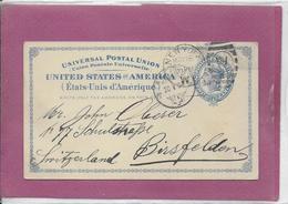 UNIVERSAL POSTAL UNION  UNITED STATES Of AMERICA   1894 - ...-1900