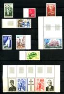 REUNION - Collect. 1970/1974 - Nfs N** - Très Beaux (défauts Sur 3 Ou 4 Timb. Non Comptés) - Nombreux Bords De Feuilles - Nuovi