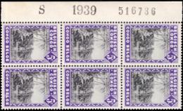 Congo 0197** Molindi Bloc De 6  Milésimé Et Numéroté - Congo Belge