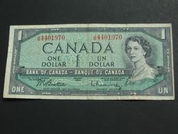 1 One  Dollar 1954  - Bank Of Canada **** EN ACHAT IMMEDIAT ***** - Canada