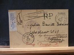 A9142   CP BELGE INCONNU OBL. BRUGGE   1927  PARTI SANS LAISSER D'ADRESSE  REBUT - Belgium