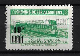 ALGÉRIE / ALGERIA 1948 - YT Colis Postaux 204** - Parcel Post