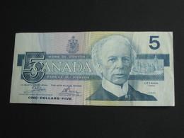 5 Five  Dollars 1986  - Bank Of Canada **** EN ACHAT IMMEDIAT ***** - Canada