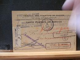A9143   CP BELGE ANTWERPEN  1925  PARTI POUR + REBUT - Belgique