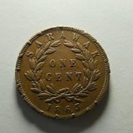 Sarawak 1 Cent 1863 - Malasia