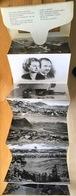 Liechtenstein Leporello Années 1950 Cartes Photo (10) - Liechtenstein