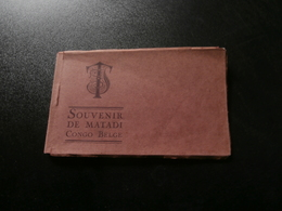 Carnet De 9 Cartes Postales/postkaarten : Souvenir De Matadi ( E Sockmans & C°) - Belgian Congo - Other