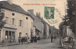 71.n°57354.épinac Les Mines.rue De La Verrerie.en Etat - Autres Communes