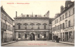 03 MOULINS - Bibliothèque Publique - Moulins